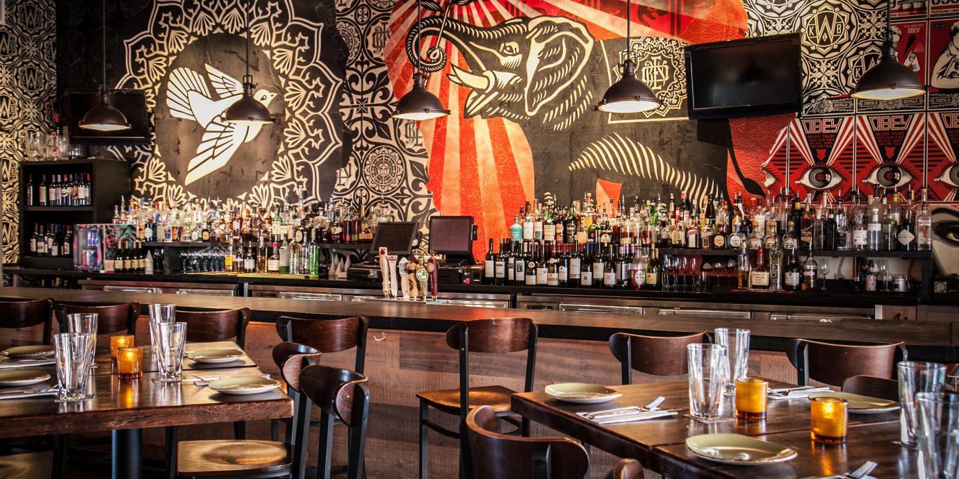 Food + Drink indoor Bar restaurant meal dining table