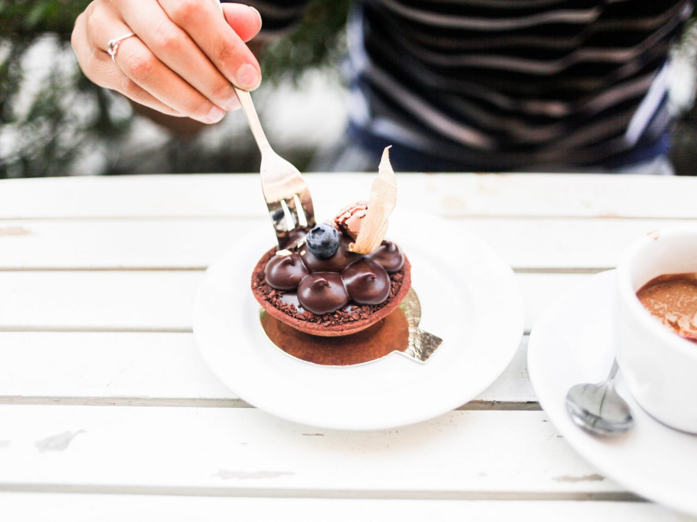 Offbeat person food dessert dish meal breakfast produce brunch sense chocolate