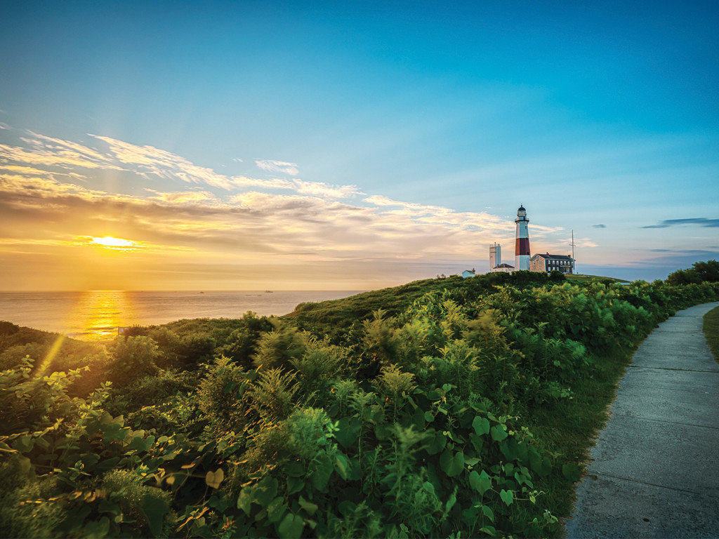 Montauk, NY Sunset and Lighthouse