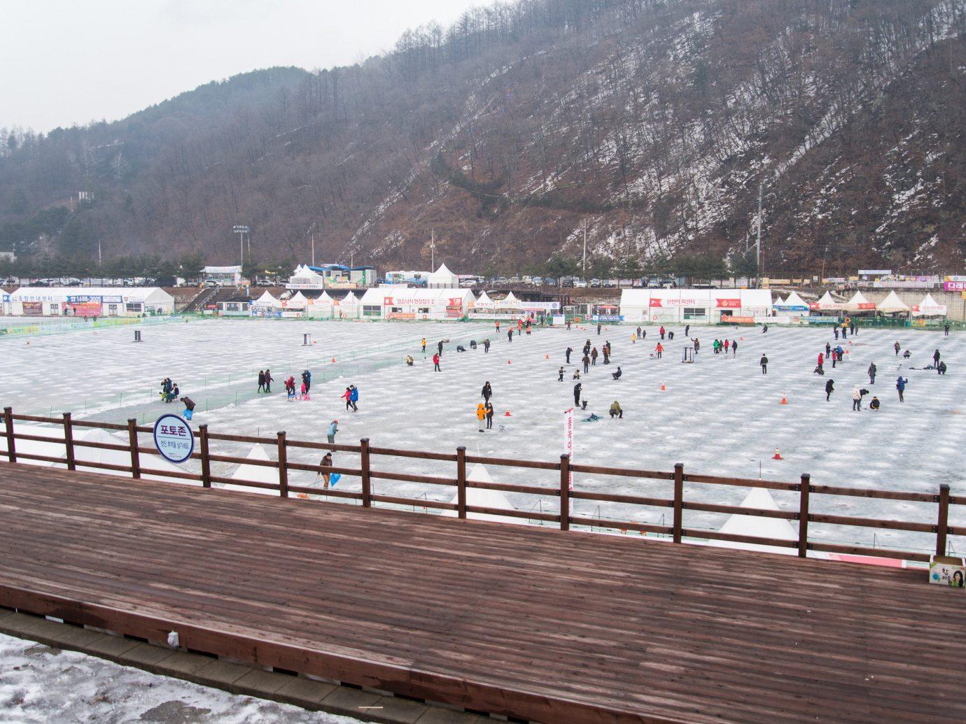 City Seoul Trip Ideas sport venue structure race race track Winter snow sky roof recreation tree sports leisure
