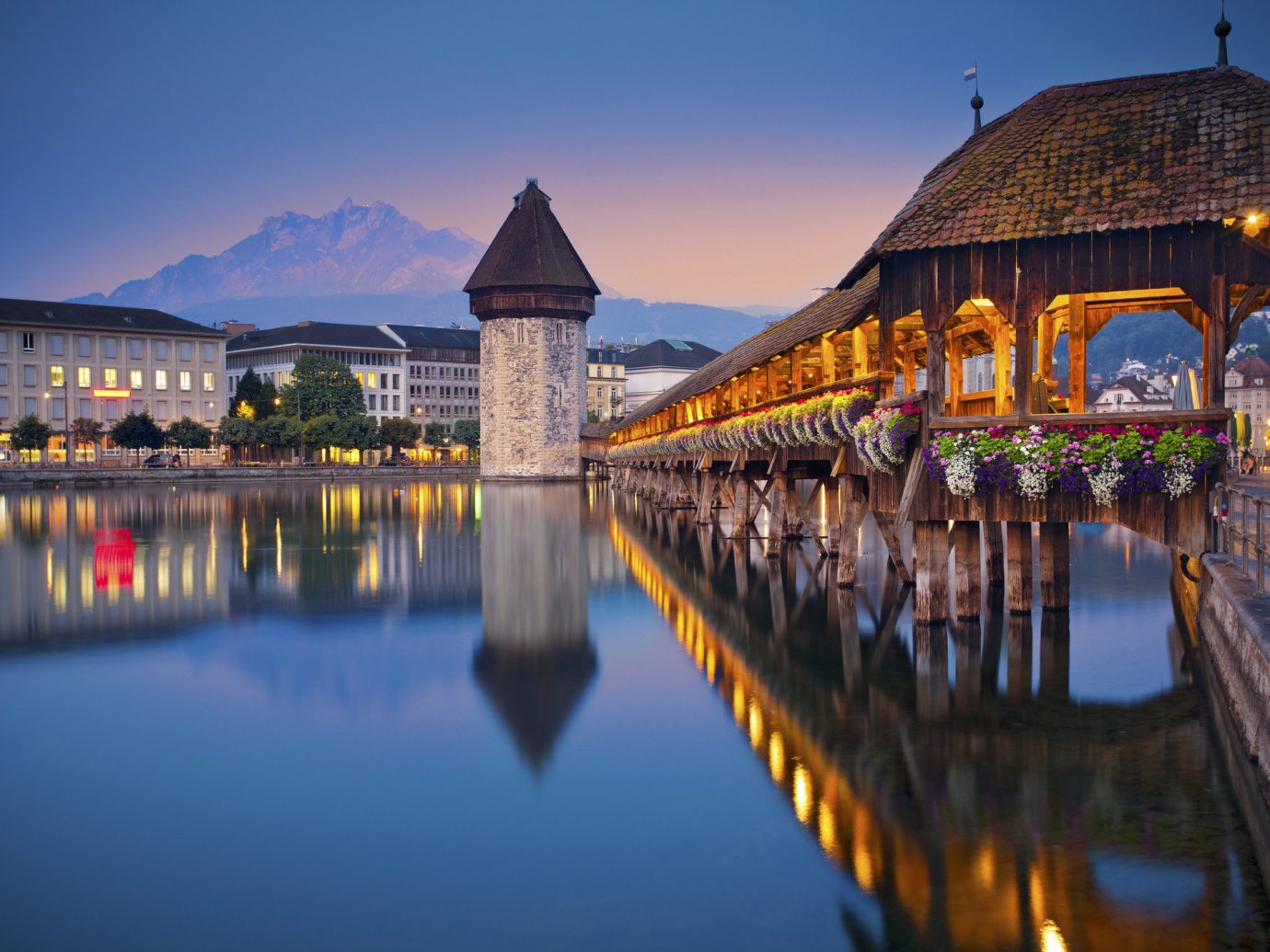Lakes + Rivers Outdoors + Adventure outdoor sky reflection water landmark tourist attraction City Town evening scene morning tourism cityscape night dusk tree River reflecting pool leisure plant symmetry Lake computer wallpaper landscape long several
