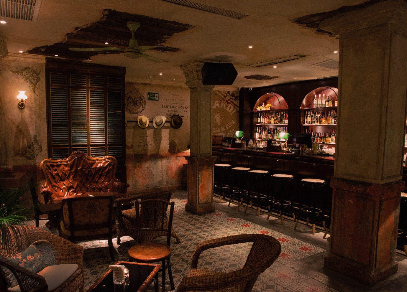 Jetsetter Guides indoor ceiling floor room restaurant Bar estate tavern interior design café furniture