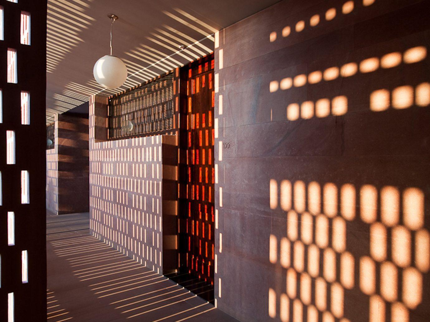 Hotels light interior design lighting Winery Design window covering furniture