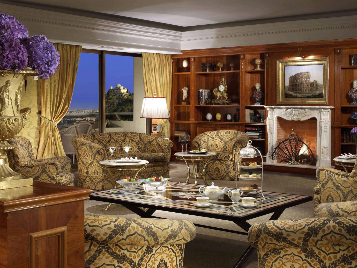 Boutique Hotels City Elegant Italy Living Luxury Luxury Travel Romantic Hotels Rome indoor room property home living room estate dining room cabinetry interior design Kitchen countertop mansion wood furniture