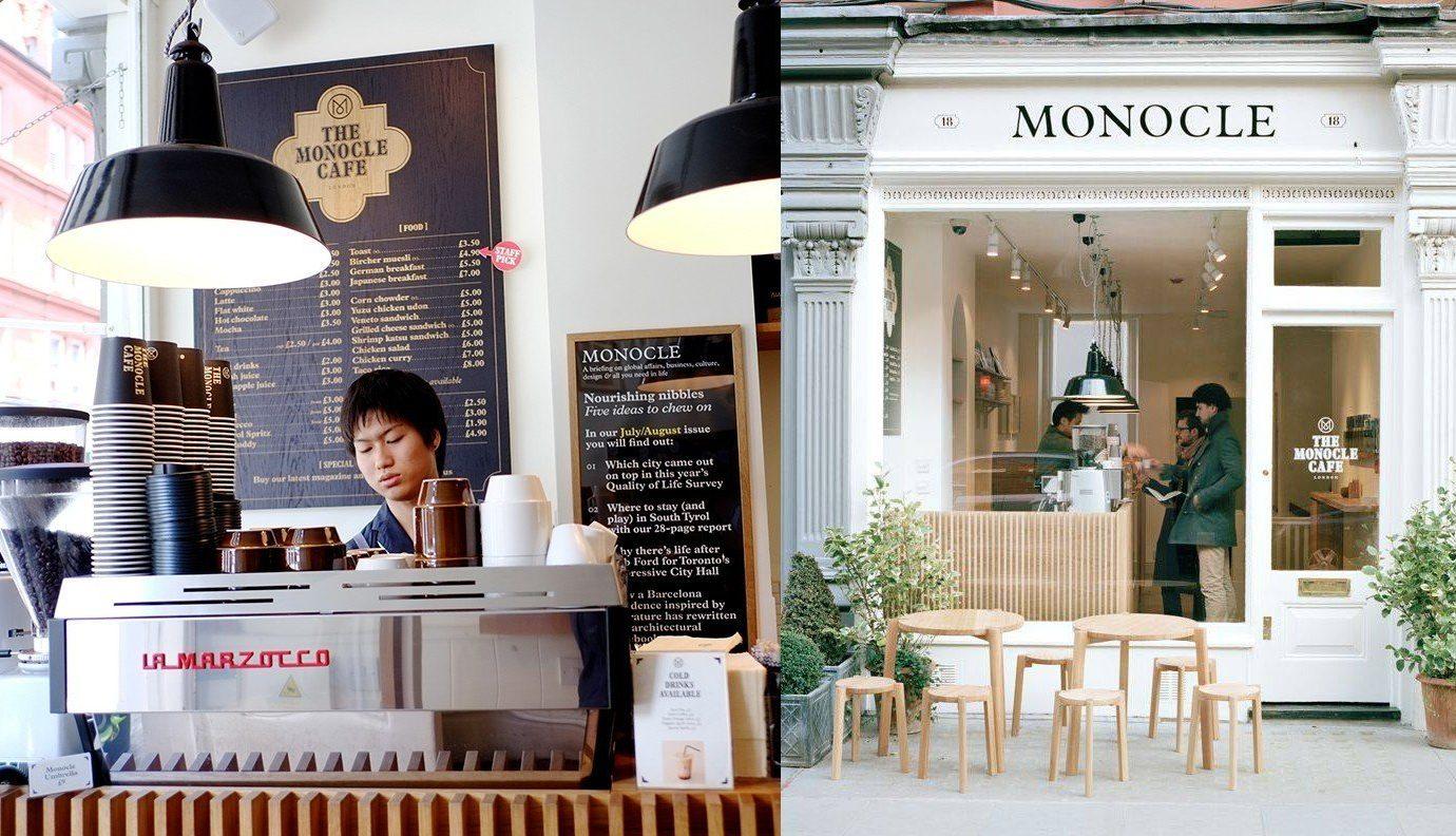 Food + Drink Offbeat Travel Trends white restaurant interior design bakery sense Design coffeehouse furniture