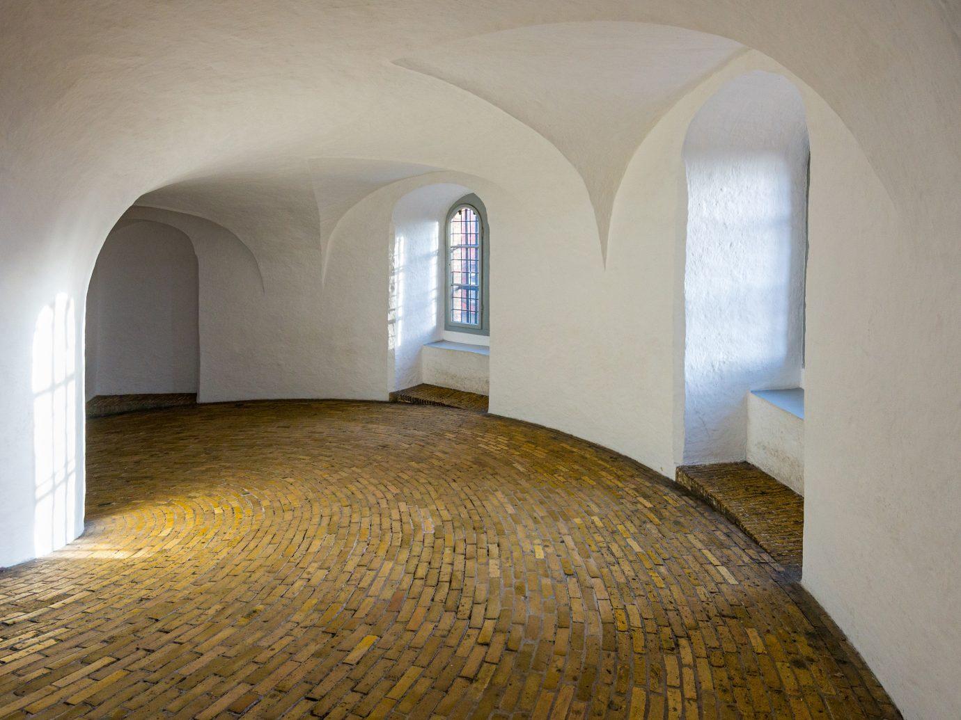 Copenhagen Denmark Trip Ideas indoor wall building property Architecture arch estate daylighting ceiling floor apartment house window Bedroom stone
