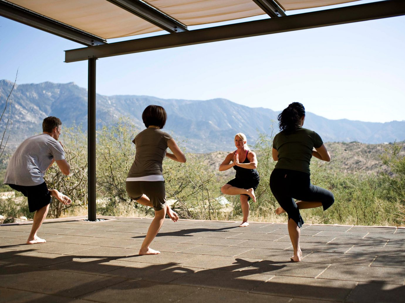 All-inclusive Fitness Health + Wellness Hotels Resort Spa Retreats Wellness sky outdoor leisure person Beach physical fitness sports