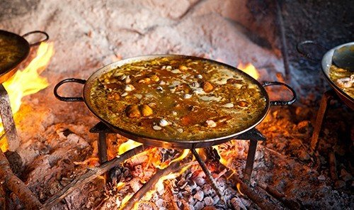 Food + Drink food dish cuisine medicinal mushroom cooking meat meal