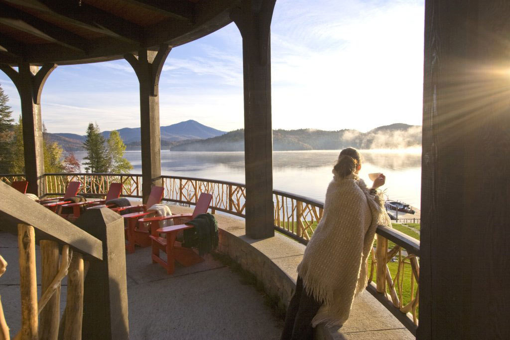gazebo Hotels Lake Lakes + Rivers Lodge mist Mountains Nature Outdoors people remote Scenic views Spa trees view viewpoint window indoor floor property vacation estate tourism Resort overlooking home Villa hacienda restaurant