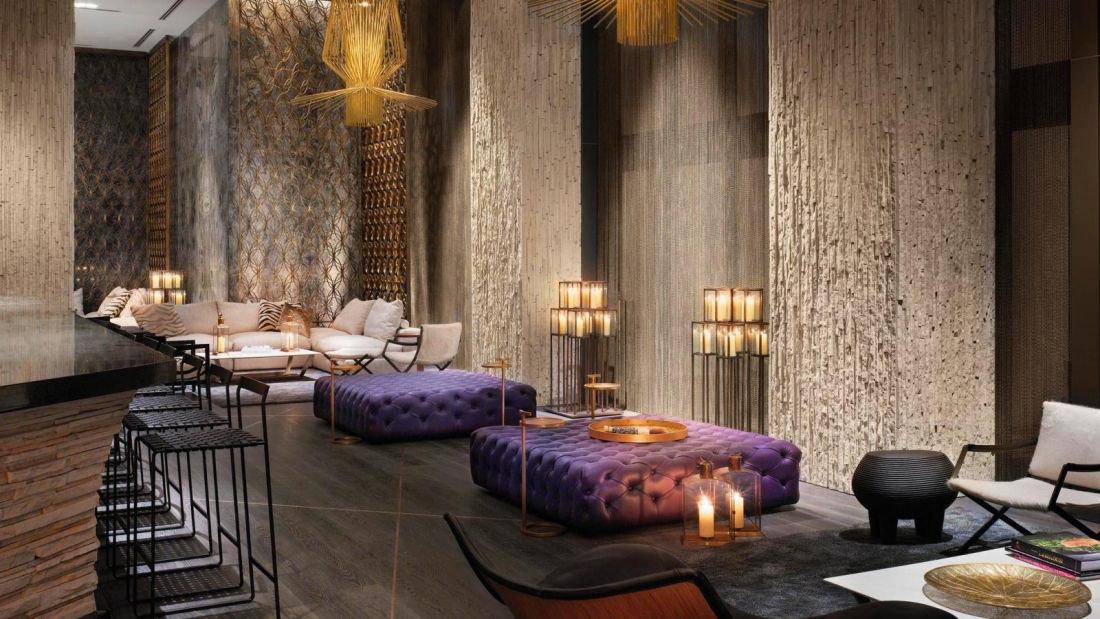 Food + Drink indoor floor room property living room estate interior design Suite Lobby mansion cottage furniture