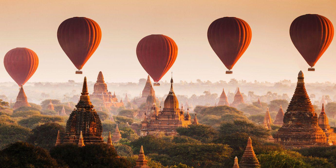 Hotels Trip Ideas transport aircraft balloon Hot Air Balloon hot air ballooning vehicle atmosphere of earth evening