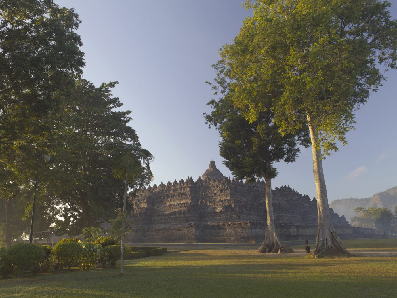 Trip Ideas tree outdoor grass plant woody plant hill Ruins rural area estate landscape monument temple day