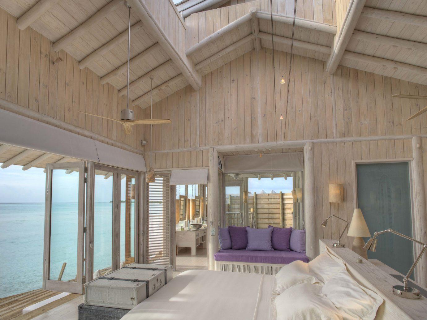 Living room at Soneva Jani