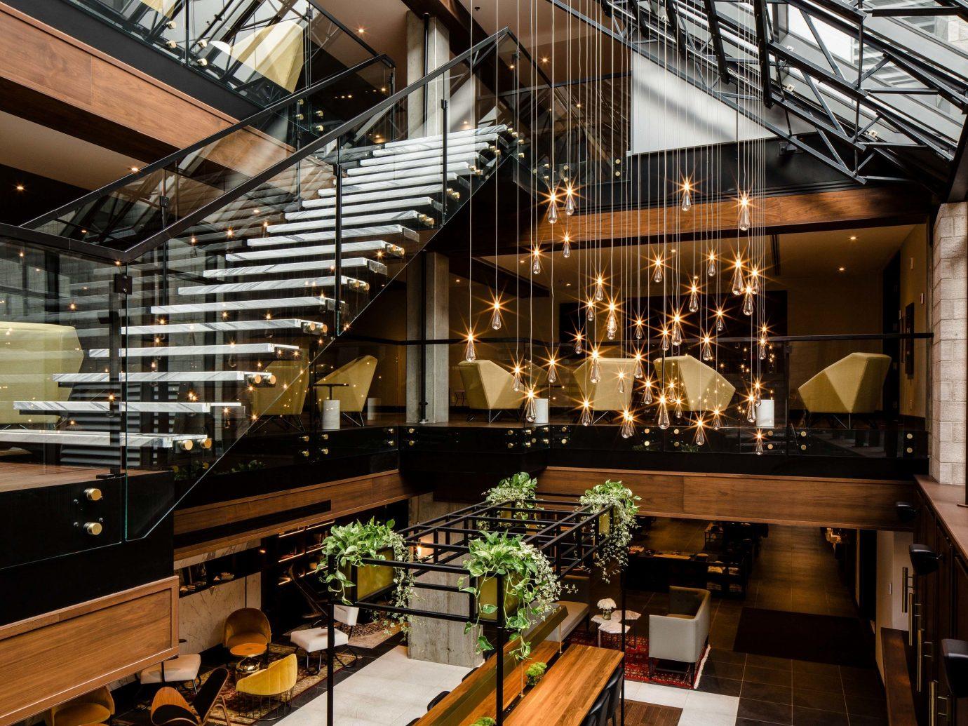 Canada Hotels Montreal Trip Ideas indoor interior design Lobby building