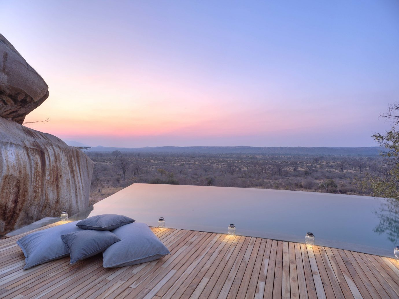Architecture Fall Travel Hotels Luxury Travel News Trip Ideas sky outdoor morning Nature wood horizon reflection real estate cloud landscape evening