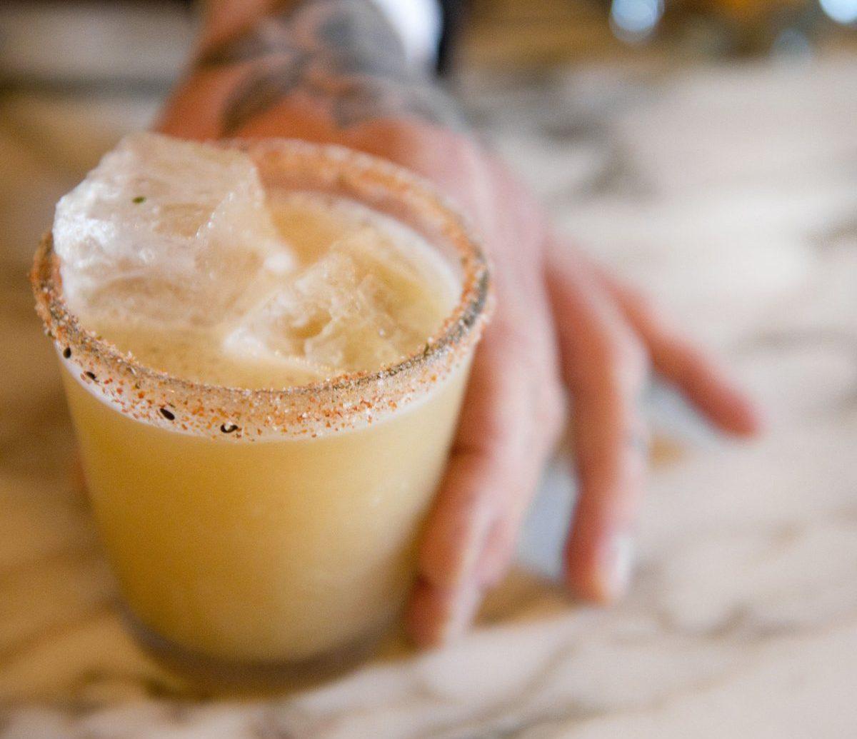 Food + Drink cup coffee Drink food alcoholic beverage cocktail produce beverage milkshake flavor orange