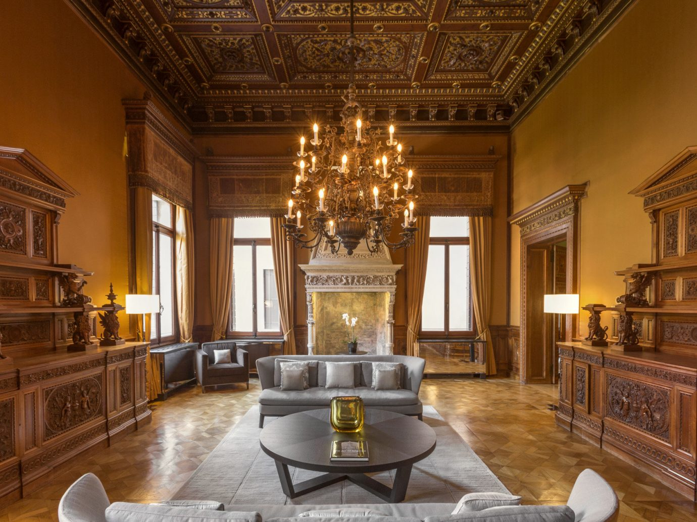 Hotels Italy Luxury Travel Venice indoor room Living property chair estate living room home mansion interior design floor hardwood furniture Dining dining room ceiling