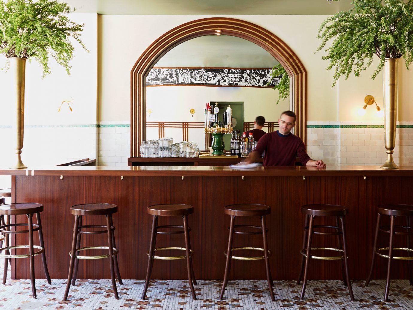 Bar Boutique Budget City Design Drink Eat Food + Drink Hip Modern Weekend Getaways chair dining room room property indoor home estate restaurant furniture interior design cottage dining table