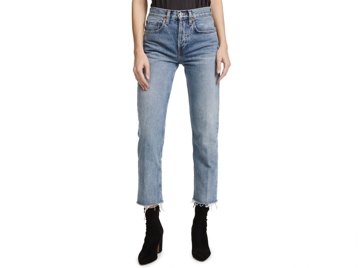 City NYC Style + Design Travel Shop jeans clothing person denim standing trouser trousers waist posing pocket