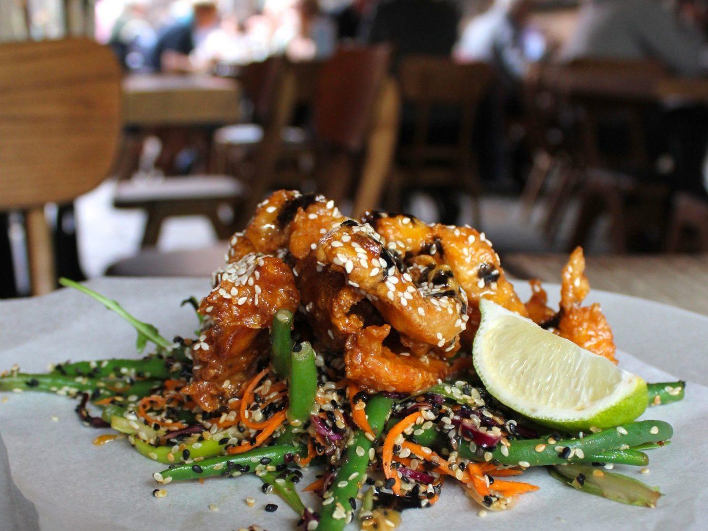 Dublin Ireland Trip Ideas table food indoor plate dish cuisine meal Seafood asian food animal source foods fried food appetizer recipe