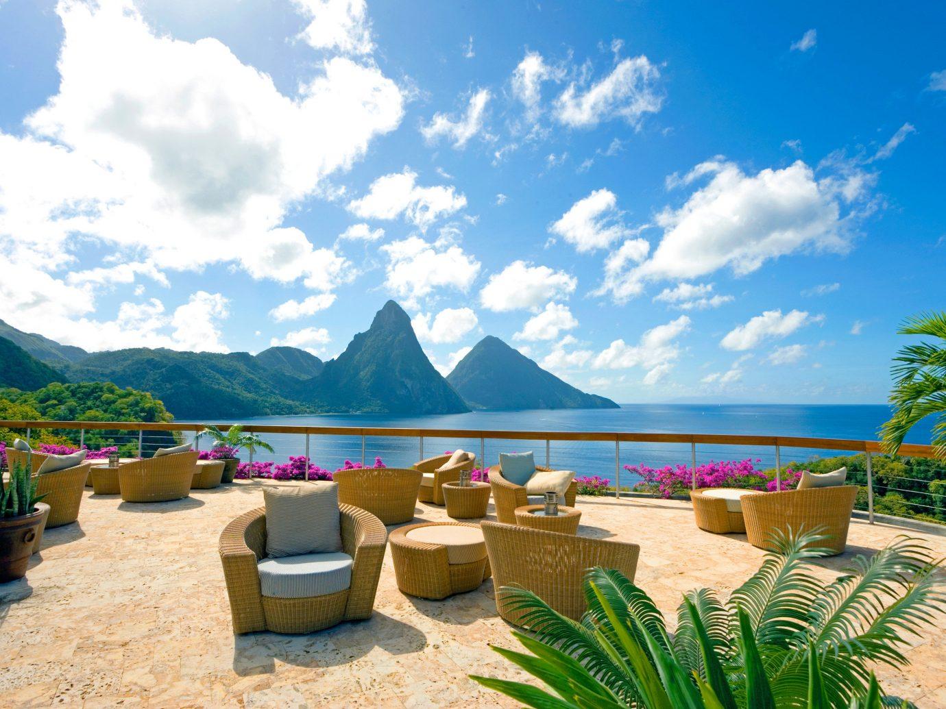 Hotels Romance sky outdoor leisure property Resort swimming pool vacation Beach caribbean estate bay Sea Villa furniture day