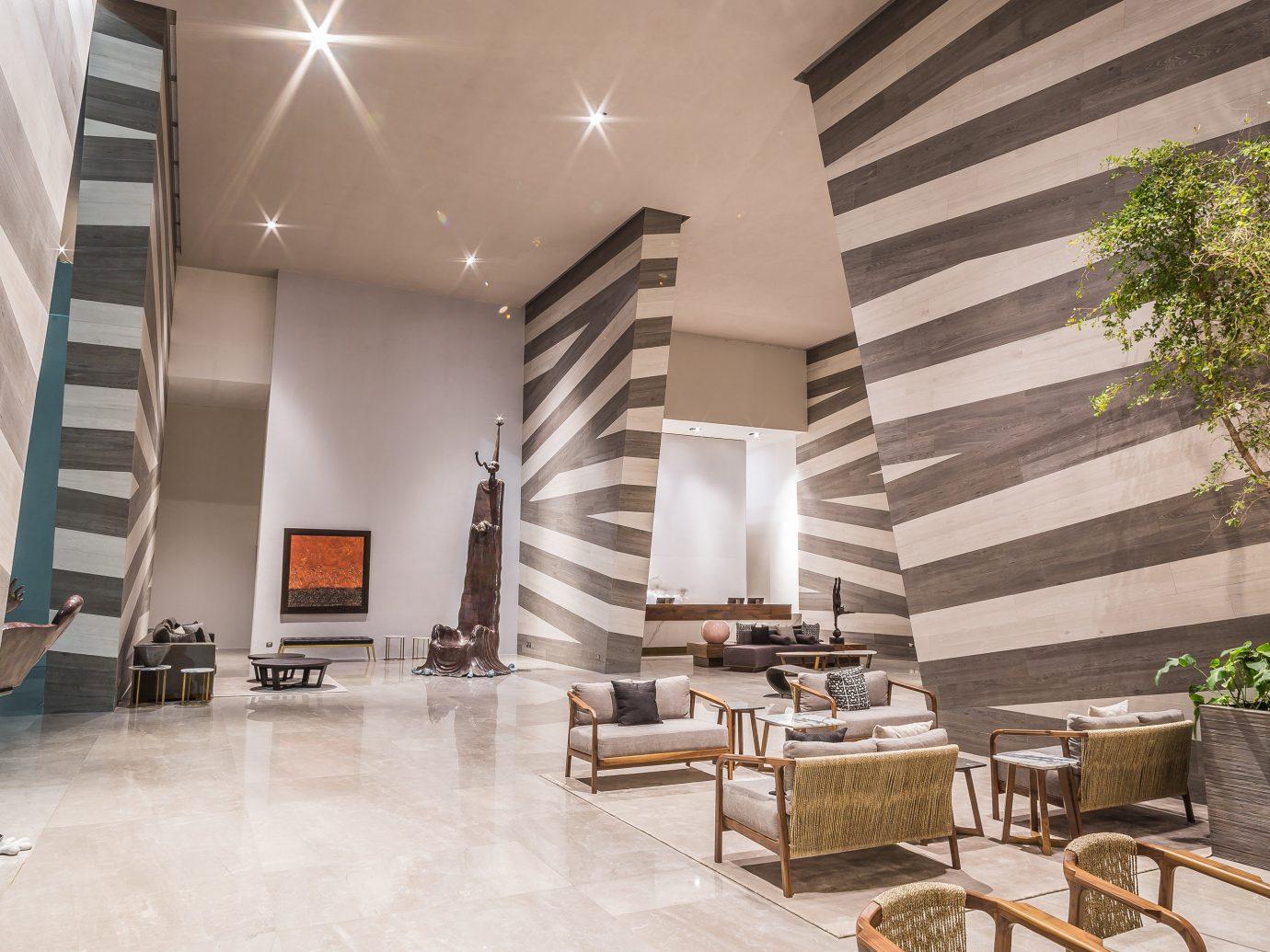Hotels Lobby indoor floor Living room Architecture interior design furniture Design estate convention center flooring