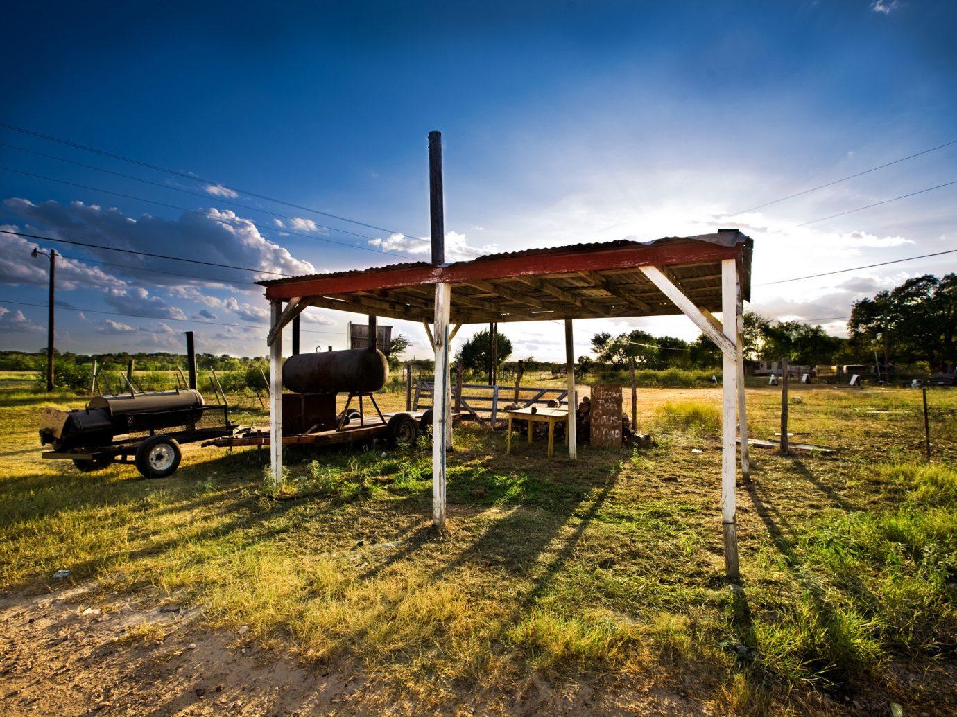 Jetsetter Guides grass sky outdoor transport rural area Farm landscape Ranch agriculture dirt