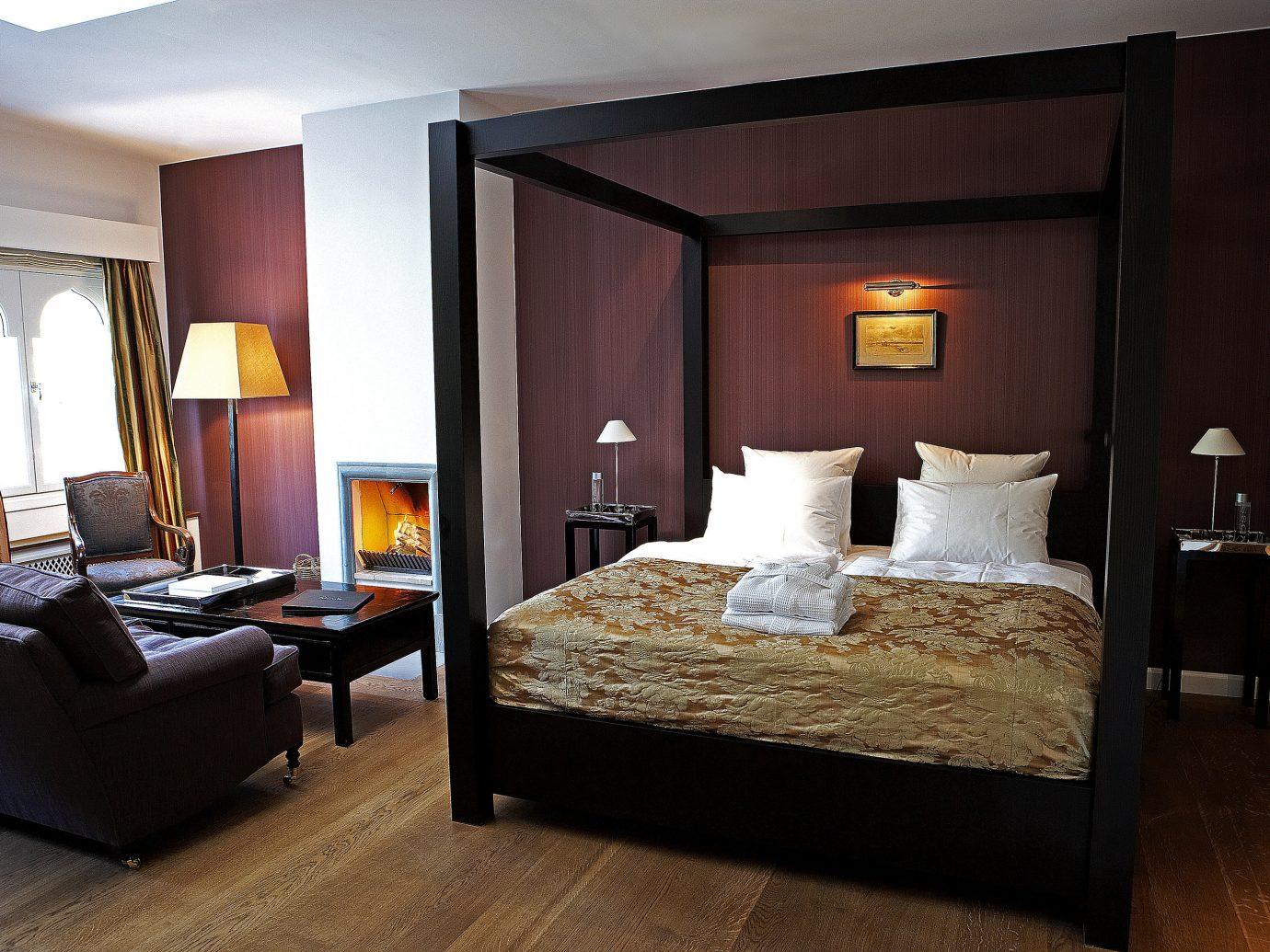 Boutique Hotels Copenhagen Denmark Hotels indoor floor wall room bed hotel Suite Bedroom ceiling interior design bed frame furniture interior designer