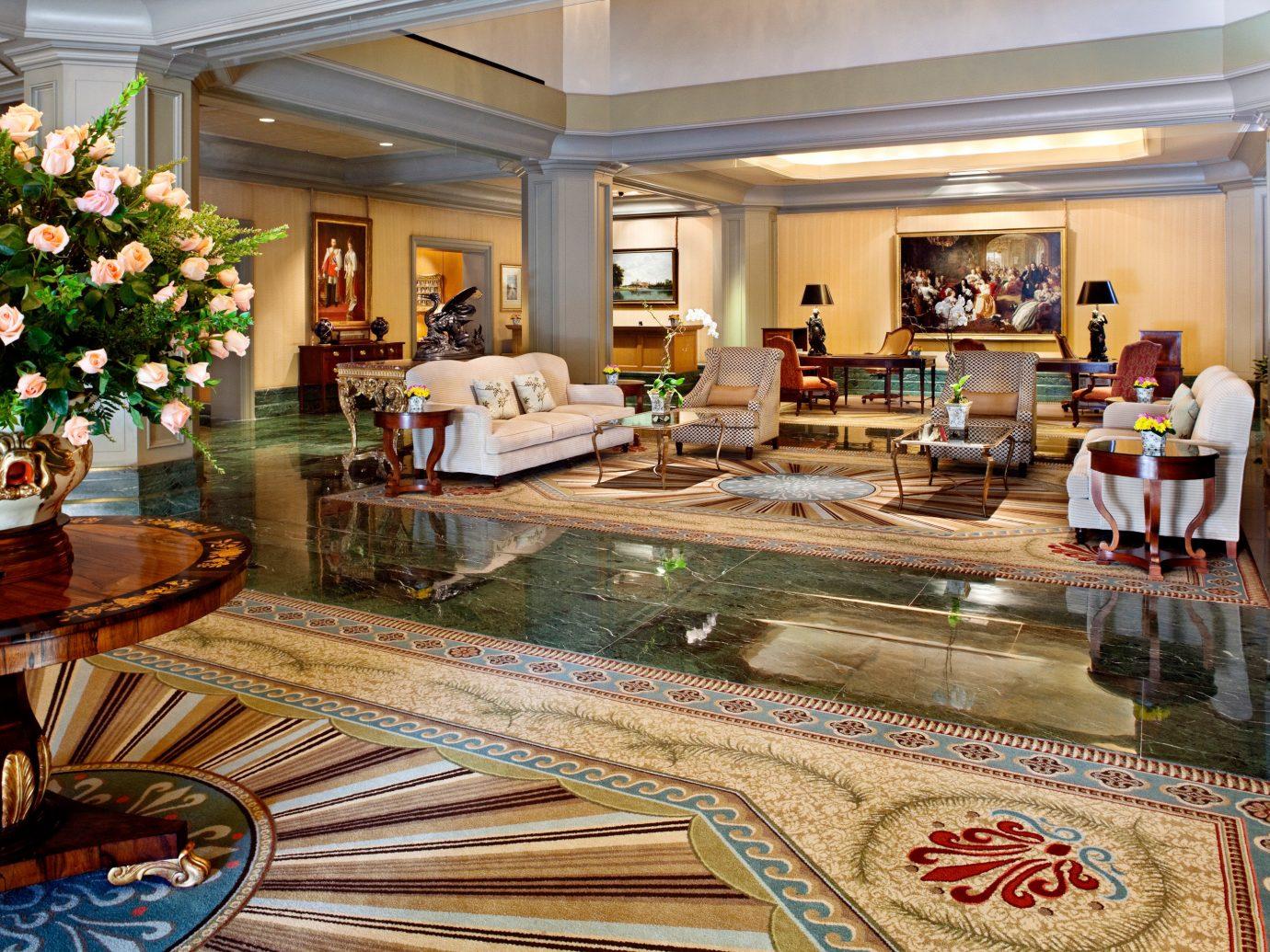 Elegant Hotels Lobby indoor property room estate meal home interior design Resort living room mansion real estate flooring palace decorated