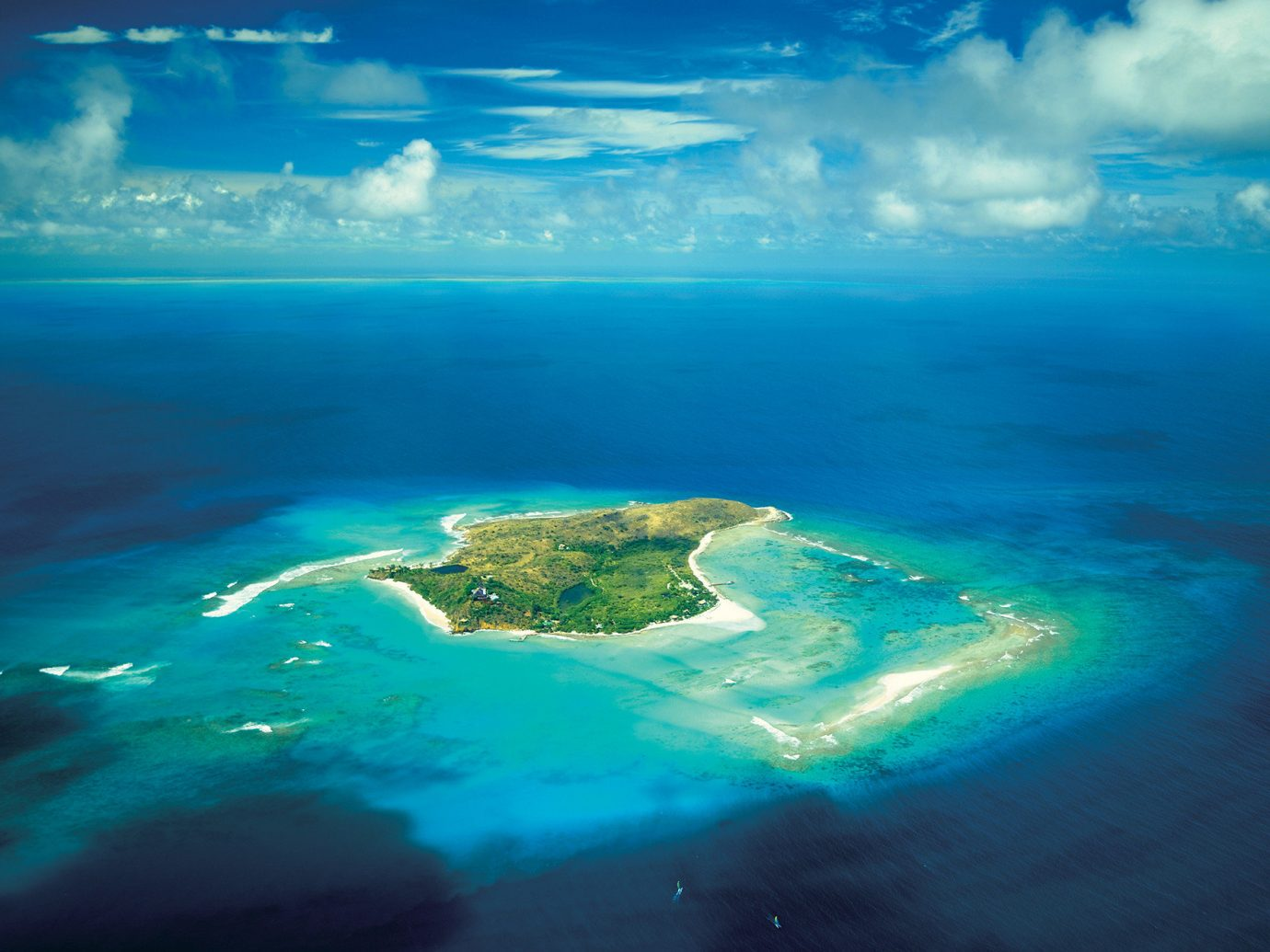 Trip Ideas water Nature reef Sea coastal and oceanic landforms water resources sky blue archipelago atmosphere Ocean islet Island calm earth aerial photography marine biology atoll computer wallpaper Lagoon horizon clouds