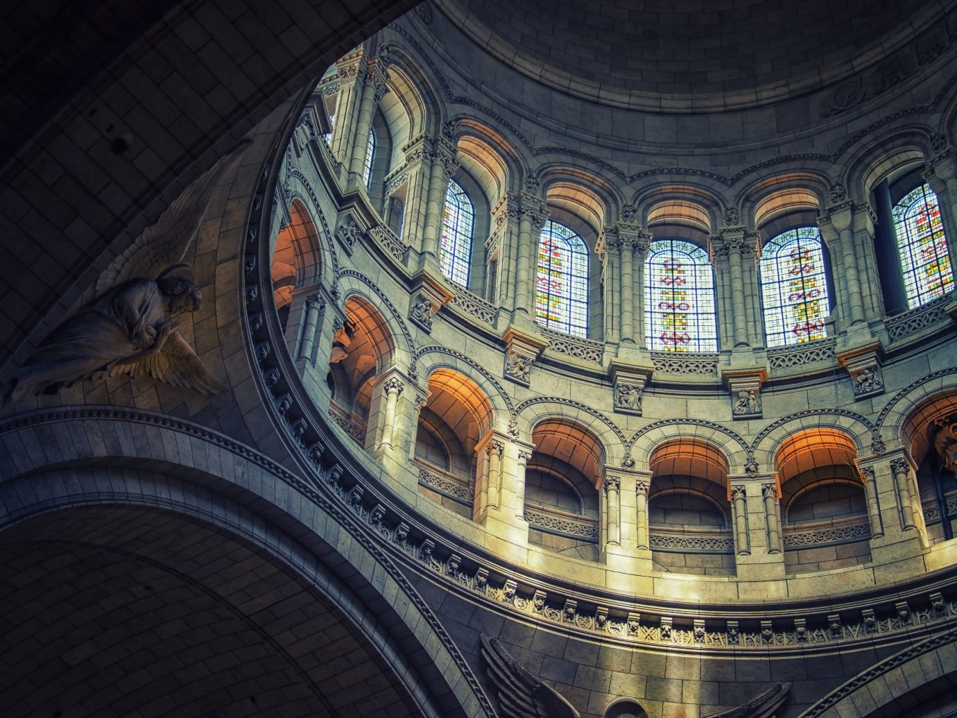 Trip Ideas dome Architecture cathedral art window basilica symmetry ancient history shape place of worship Church