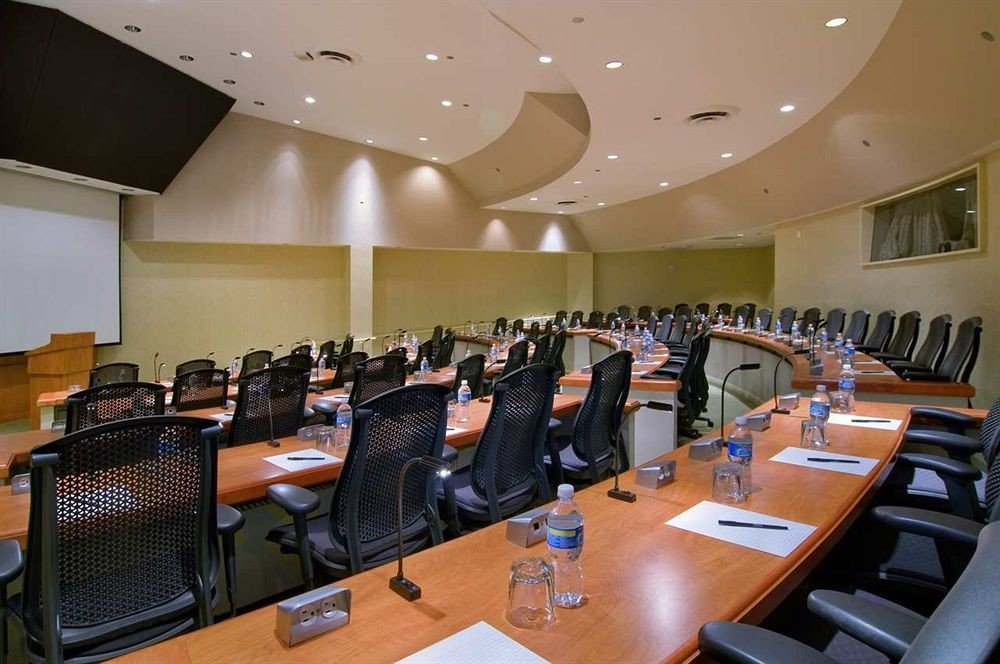 conference hall auditorium seminar meeting academic conference function hall convention convention center cluttered