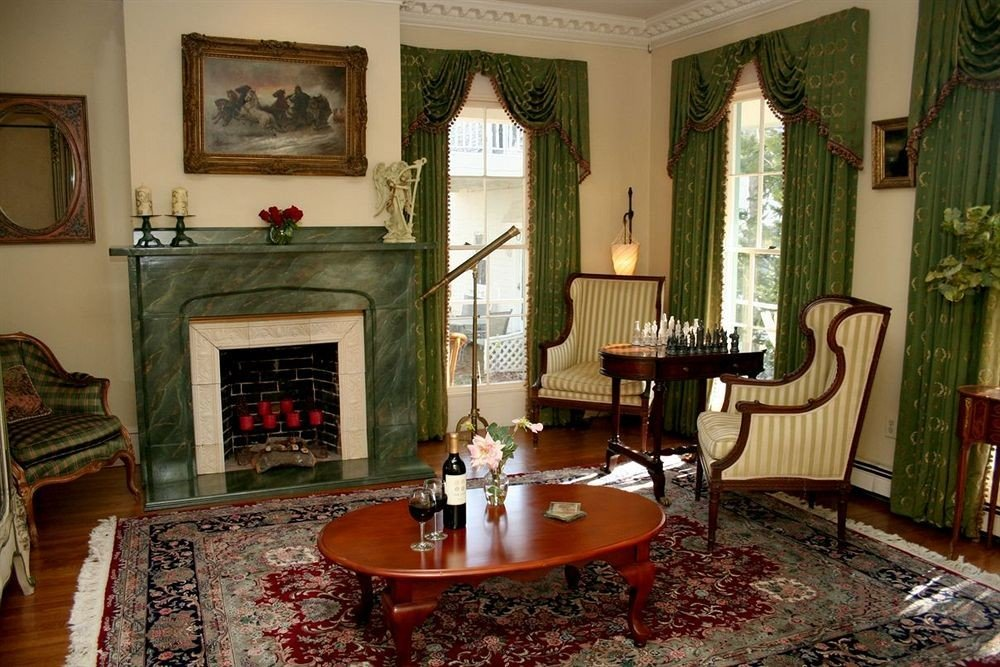 Adult-only B&B Fireplace Historic Inn property living room home house rug mansion cottage Villa Suite