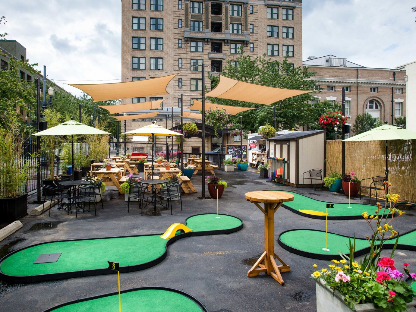 Boutique Hotels Hotels Luxury Travel outdoor property leisure recreation miniature golf condominium real estate Resort estate grass