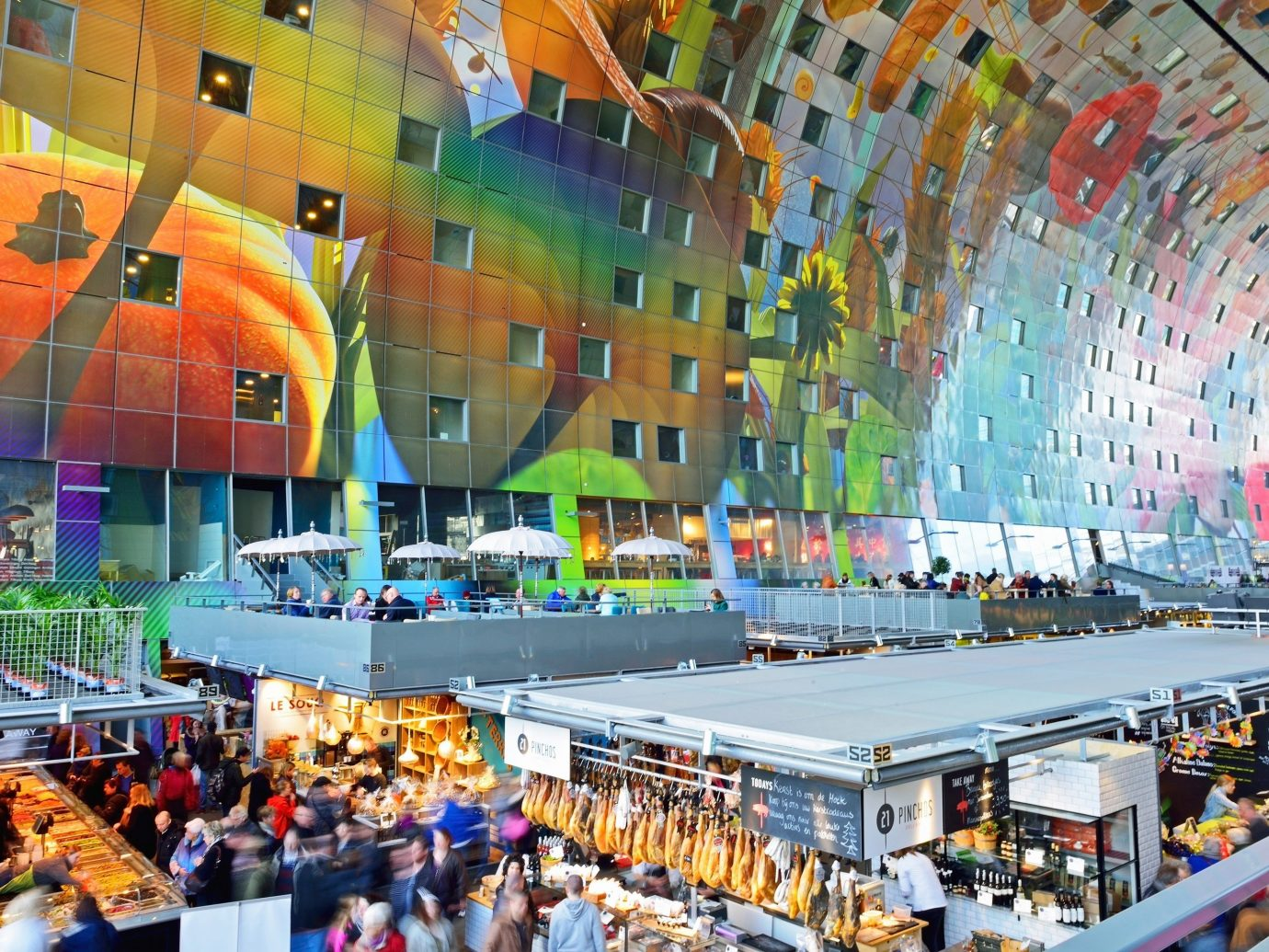 Trip Ideas indoor shopping mall supermarket infrastructure arena orange