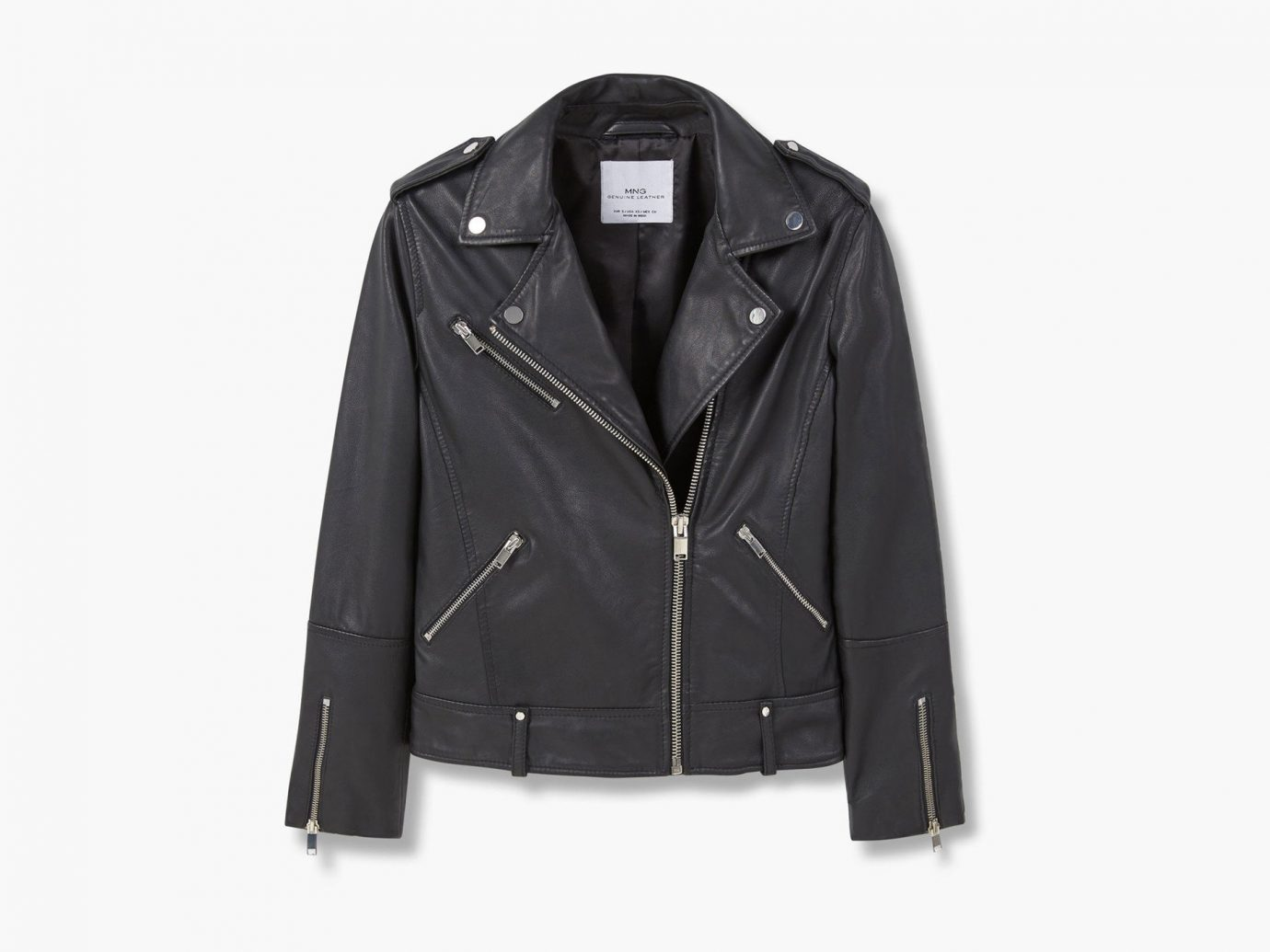 Style + Design clothing suit person jacket leather wearing leather jacket black outerwear textile coat posing material blazer dressed