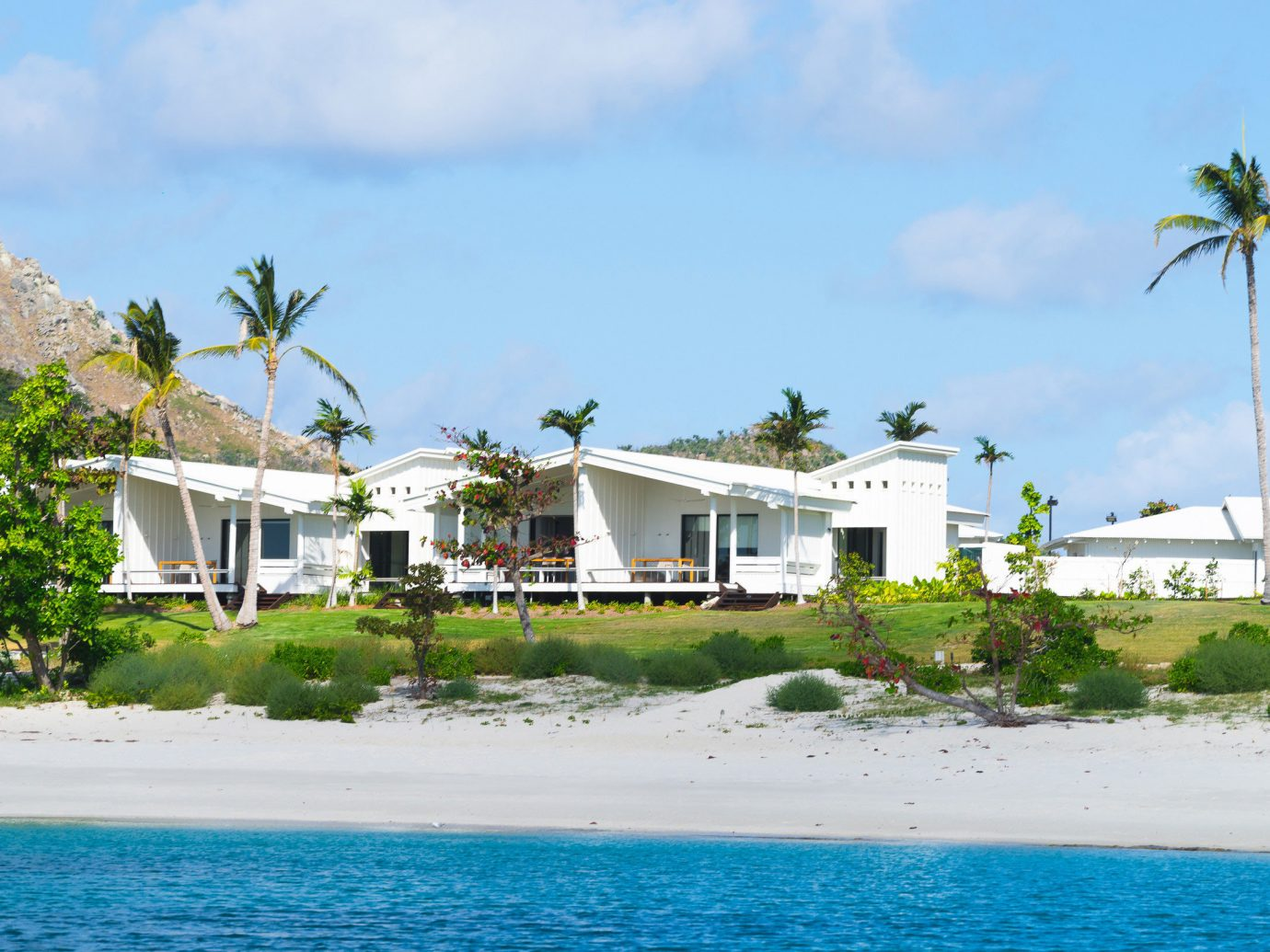 All-Inclusive Resorts Hotels sky water Beach property house caribbean Sea Coast shore Ocean Resort Island Lagoon swimming pool Village tropics cove cape