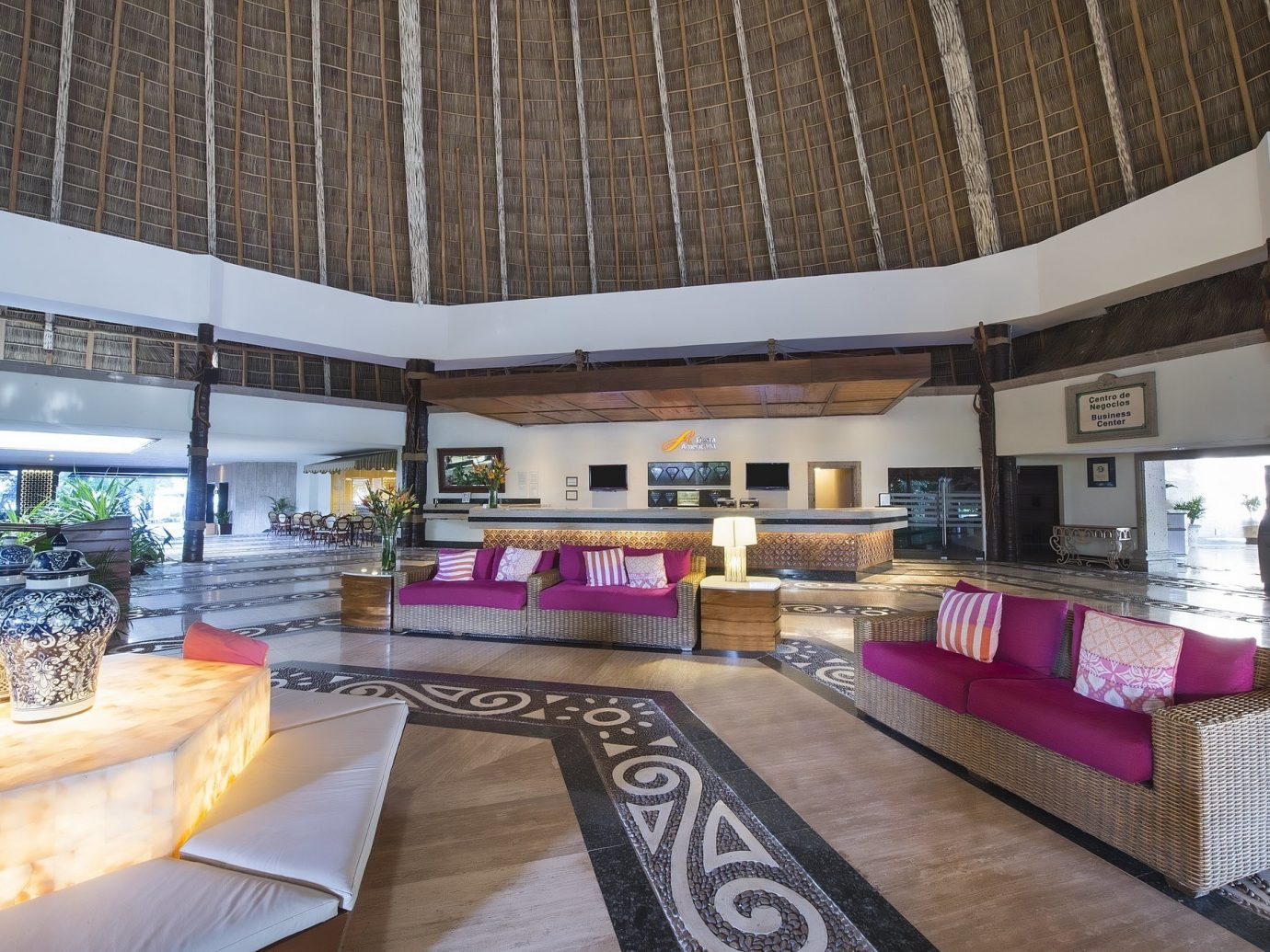 All-Inclusive Resorts Hotels table indoor interior design living room Lobby real estate ceiling estate house interior designer loft