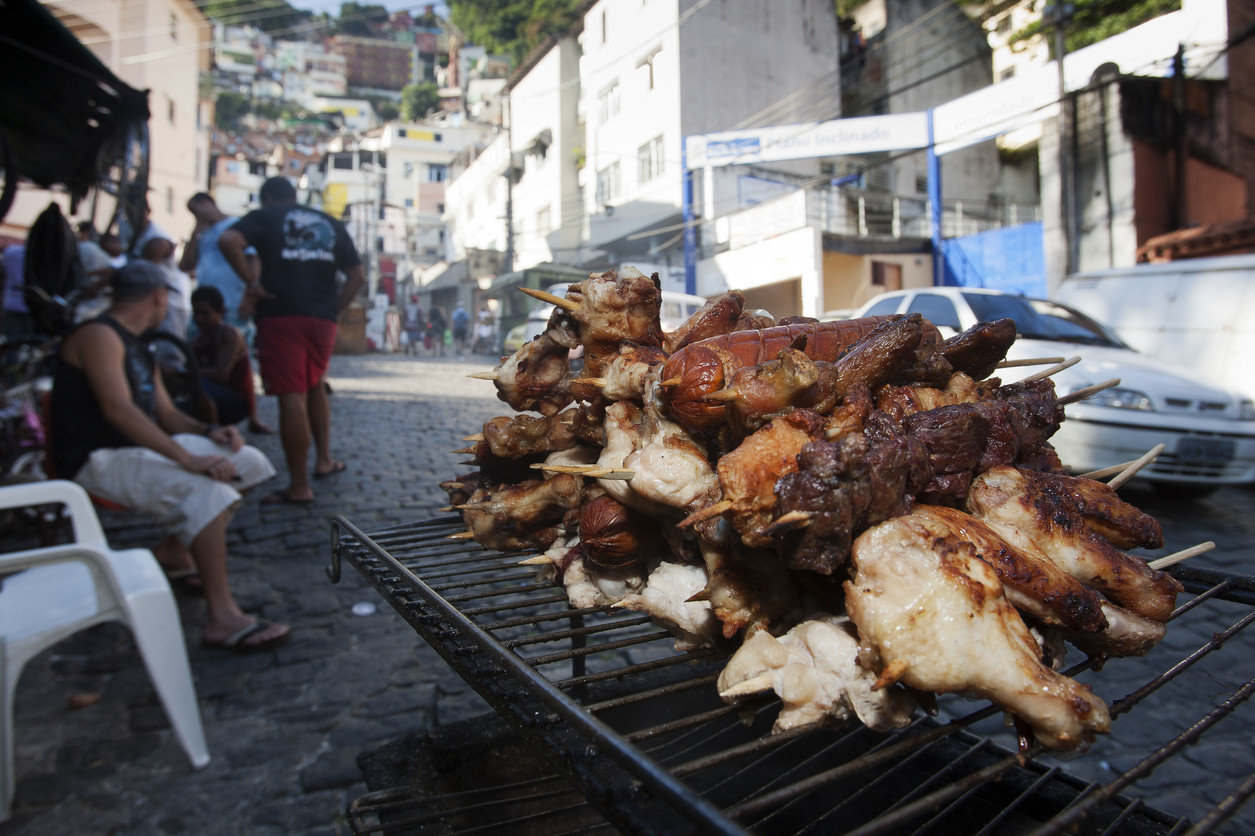 Trip Ideas food outdoor dish City meat cuisine street food market barbecue kabob cooking meal grill several