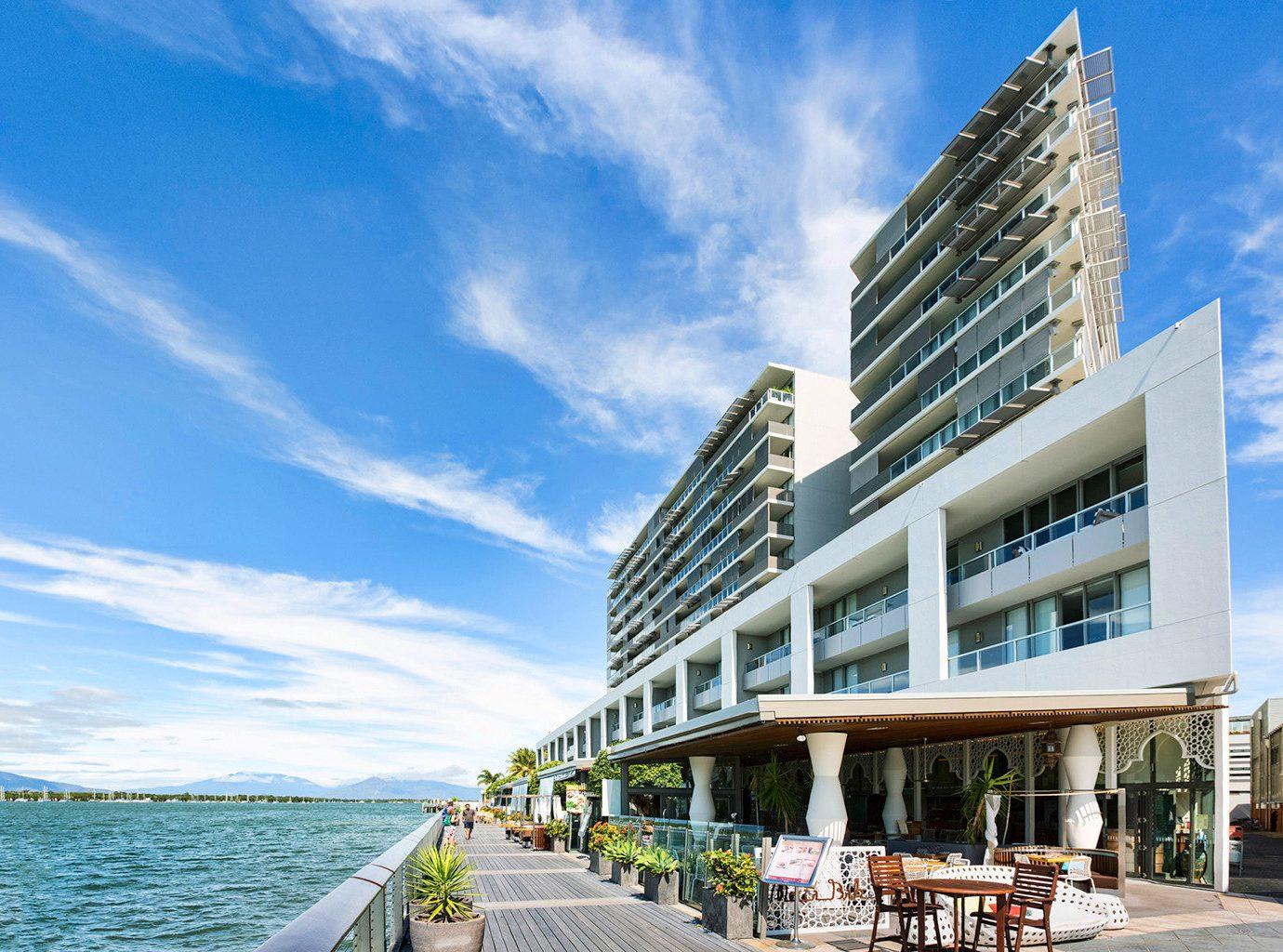 Architecture Buildings Exterior Resort Scenic views Waterfront sky building landmark condominium tower block headquarters tower