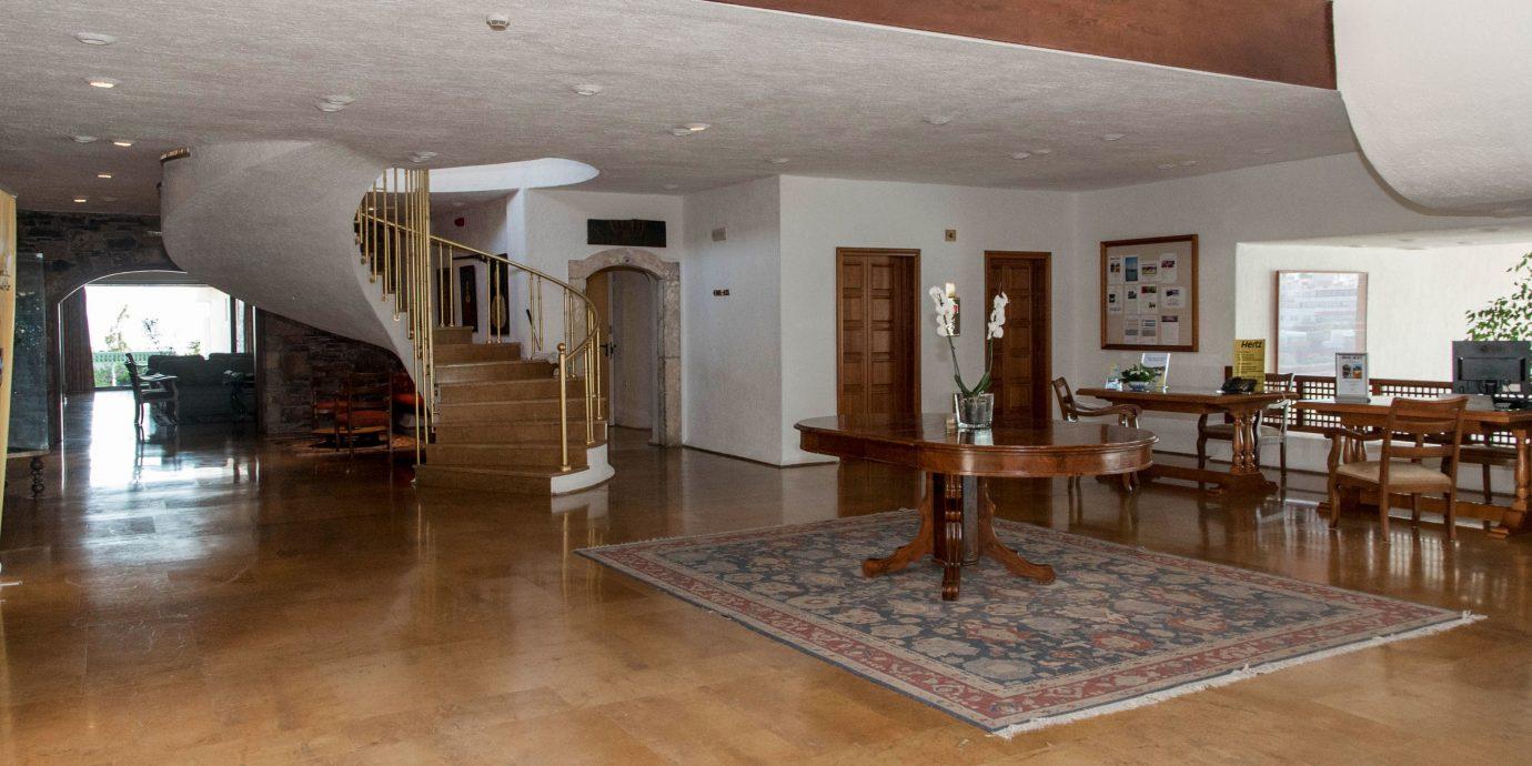 property Lobby building Architecture hardwood home flooring wood flooring Dining living room tourist attraction hard Villa loft