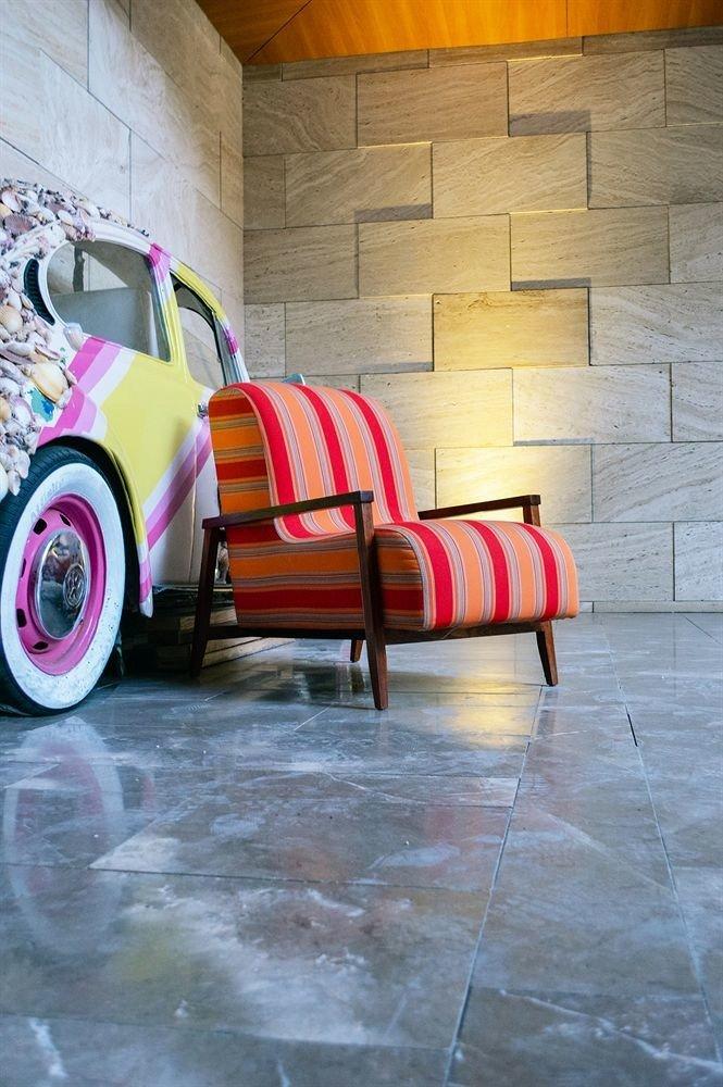 color red art flooring vehicle modern art stone