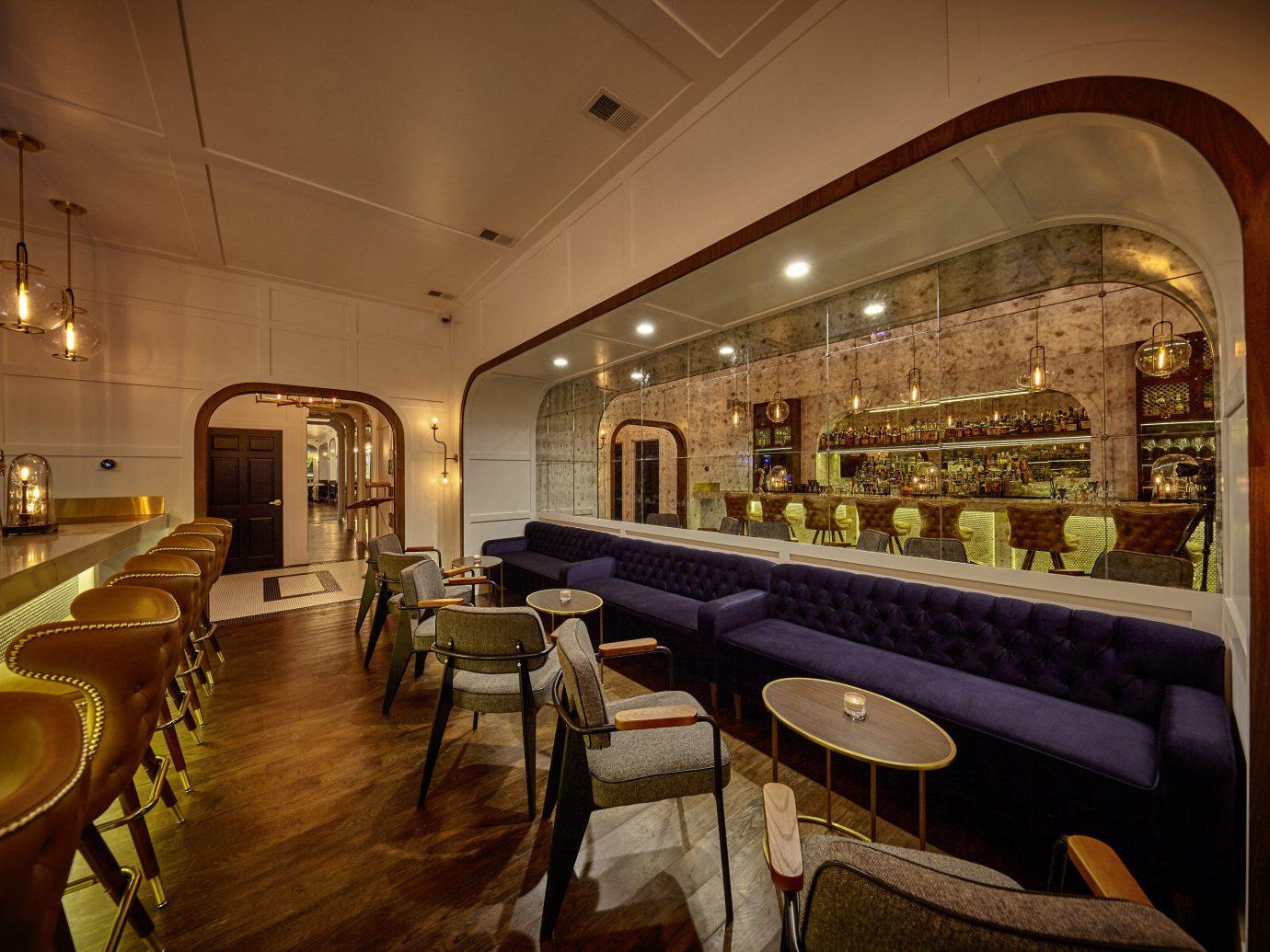 Trip Ideas indoor floor room restaurant Lobby ceiling estate interior design Bar furniture several