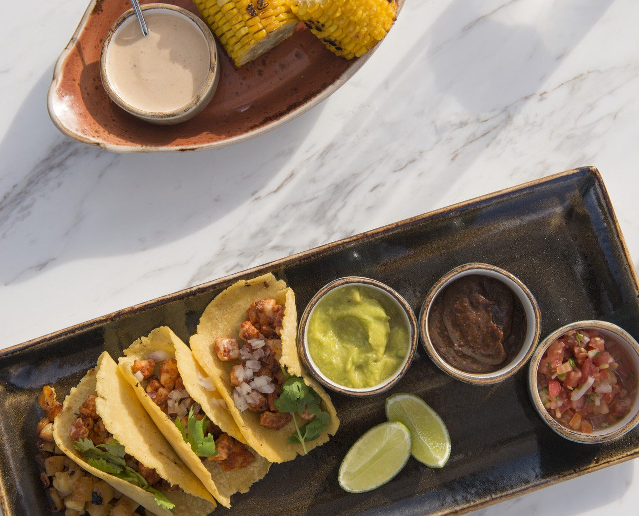 Tacos Are Served At Amanera