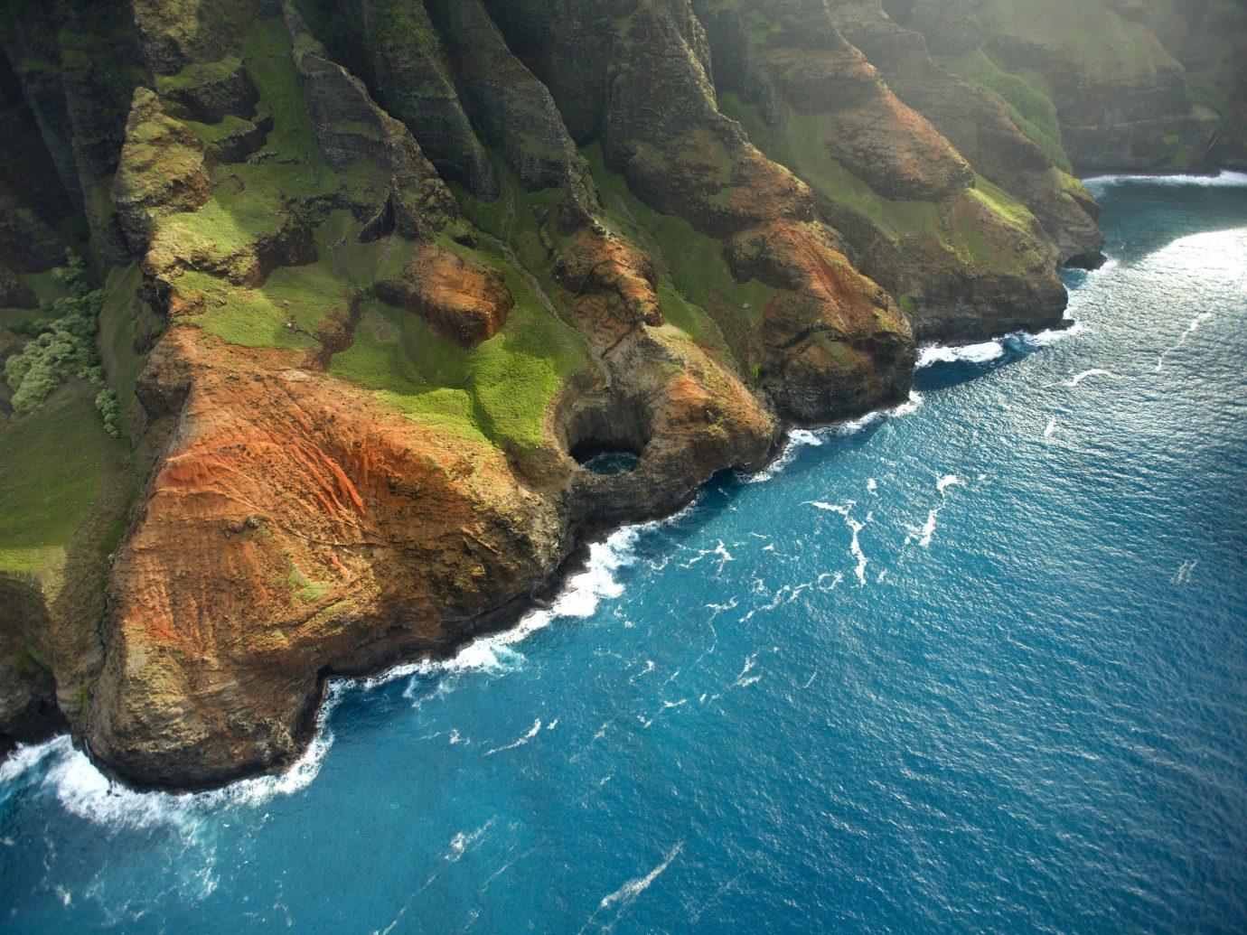 Trip Ideas water Nature outdoor mountain rock landform geographical feature Coast Sea cliff Ocean terrain bay fjord cape