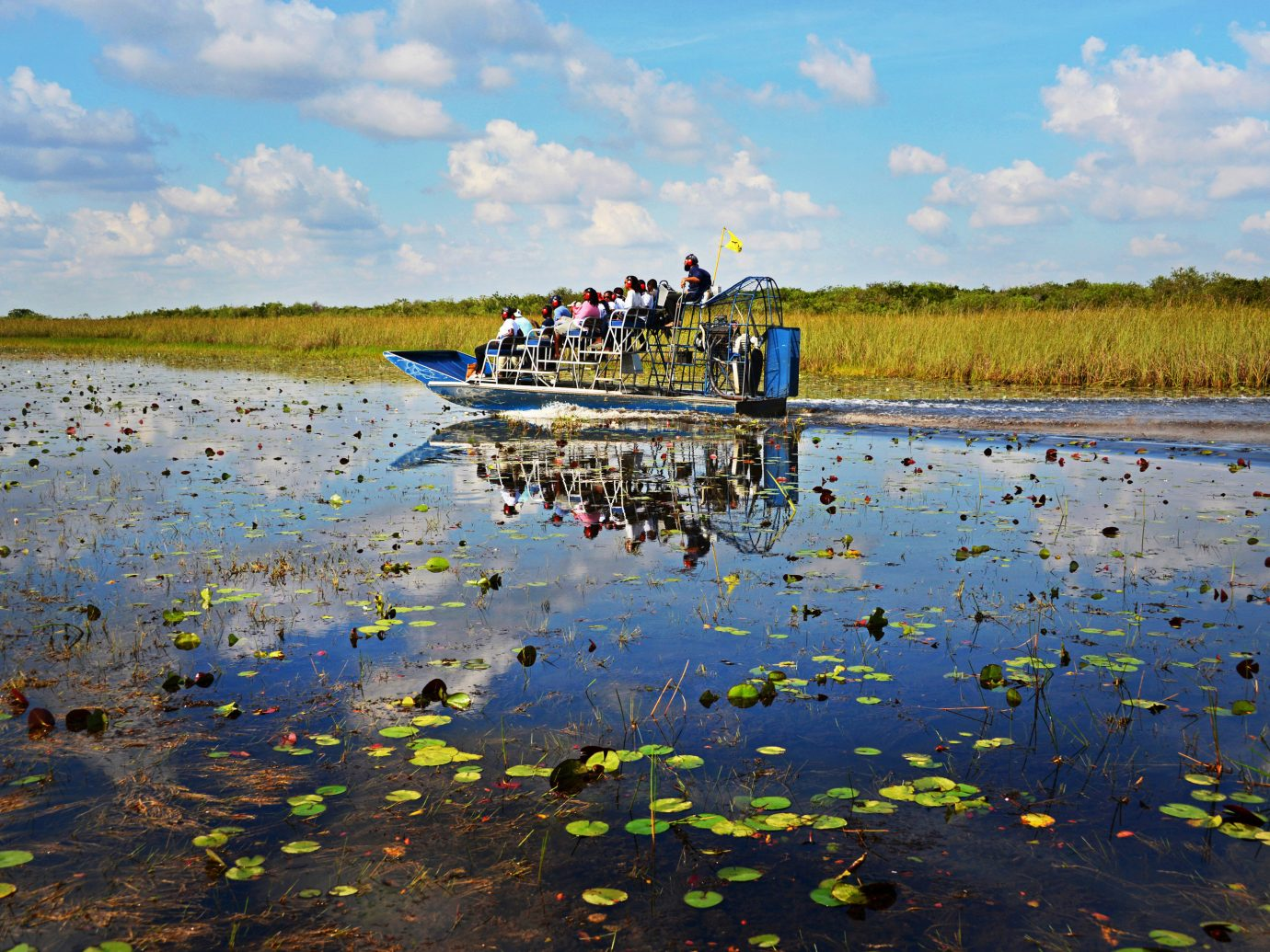 Family Travel National Parks Trip Ideas water grass sky outdoor Nature habitat shore reflection body of water wetland natural environment Sea pond River marsh Lake Coast mudflat agriculture waterway bay