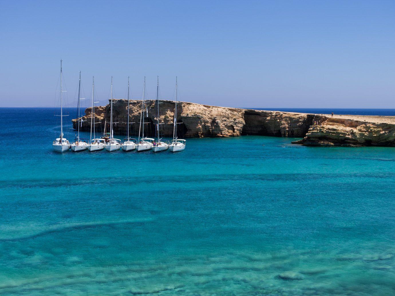 Trip Ideas sky water outdoor Sea coastal and oceanic landforms Coast azure Island bay horizon blue vacation calm Boat inlet