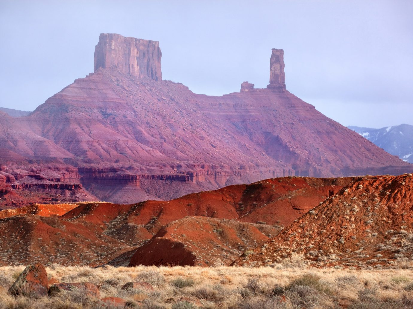 Offbeat mountain valley canyon outdoor sky Nature mountainous landforms butte geographical feature landform wilderness natural environment rock background badlands geology landscape plateau wadi terrain formation cliff material