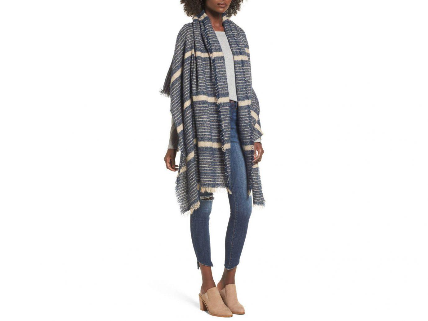 Travel Shop clothing outerwear day dress tartan pattern neck plaid costume sleeve
