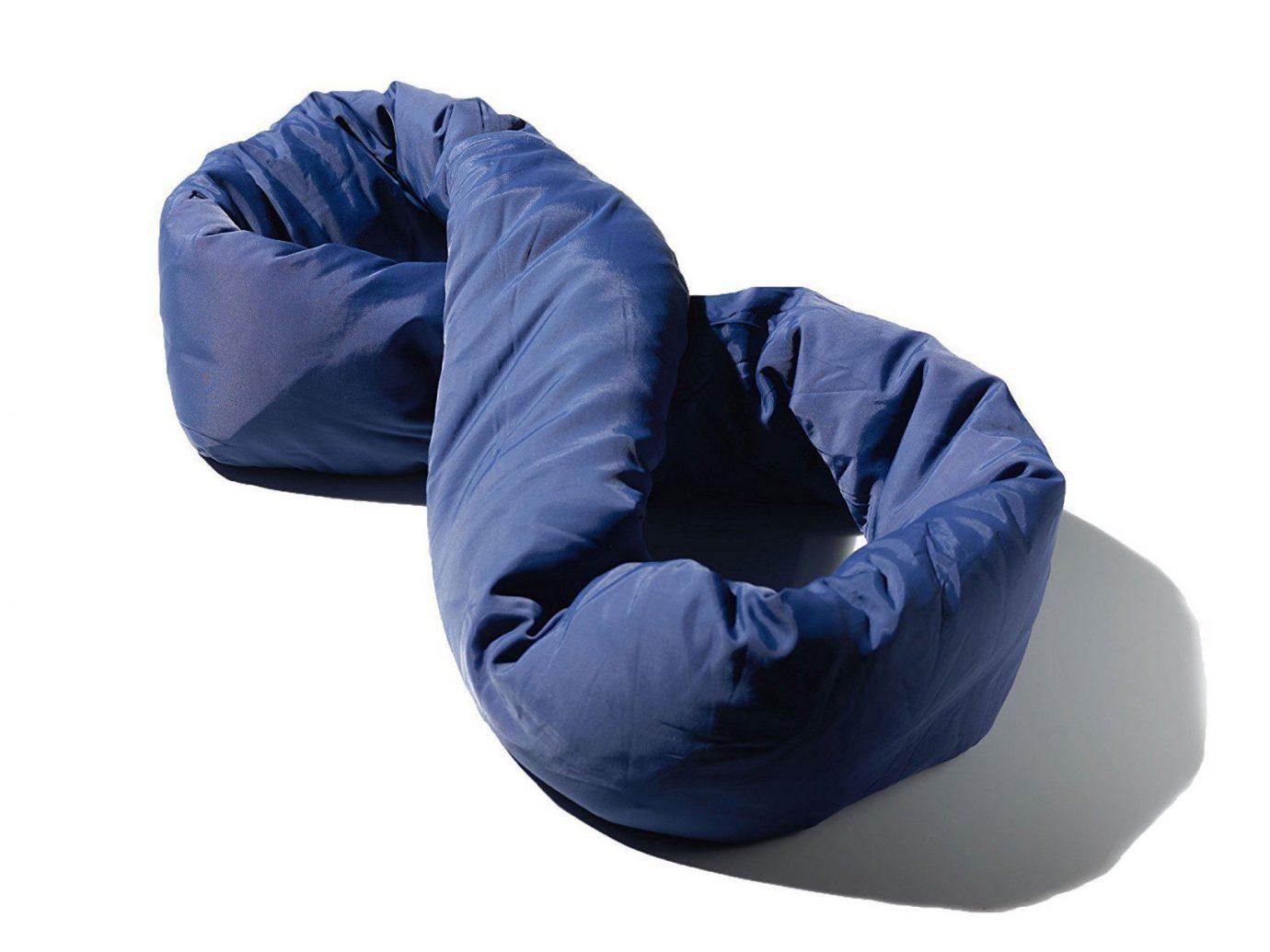 Flights Travel Shop person product design product electric blue blue sleeping bag comfort furniture